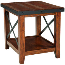Taos Canyon Brown End Table