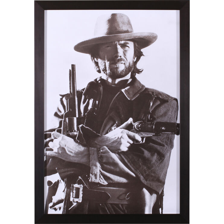 Clint Eastwood Framed Art