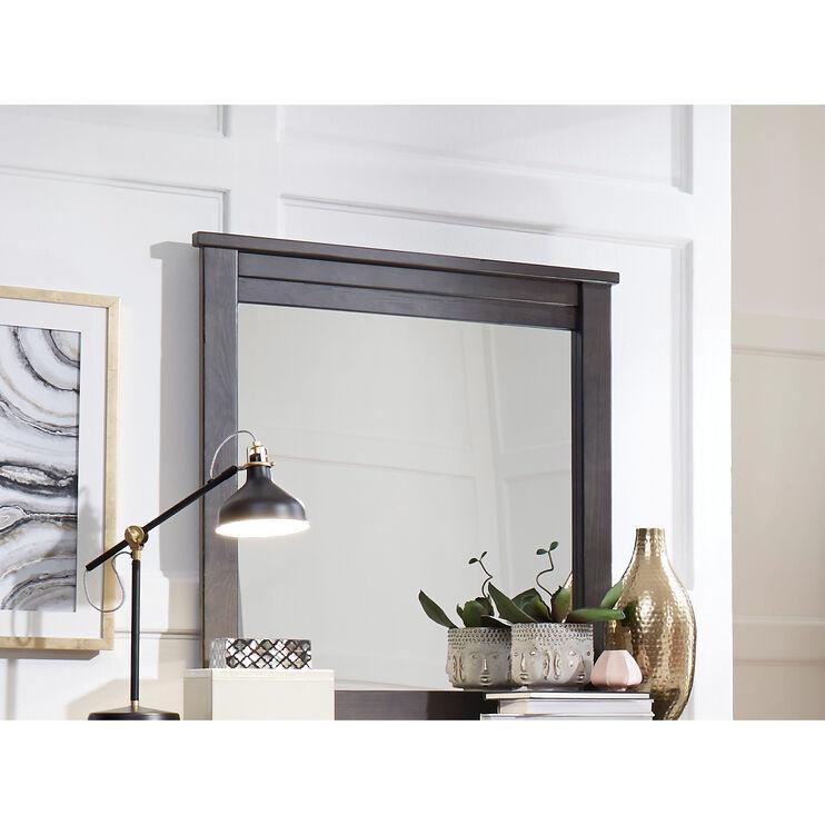 Diego Dark Gray Mirror