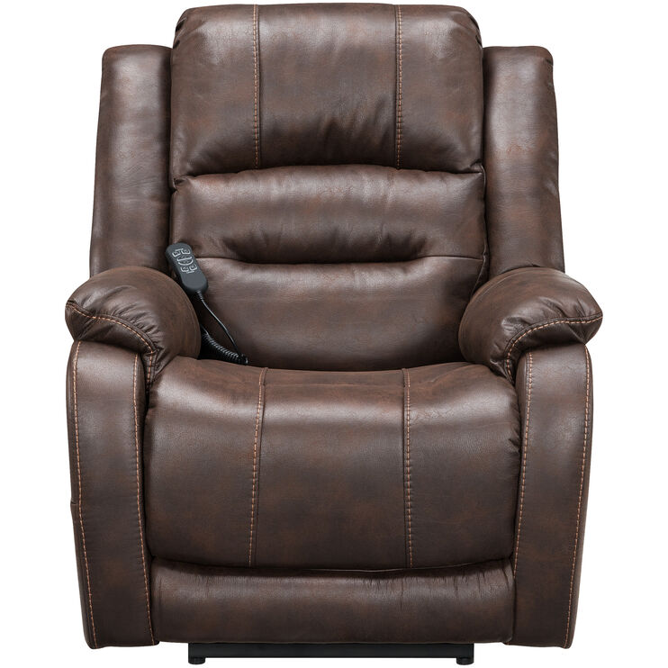 Barling Walnut Power Recliner