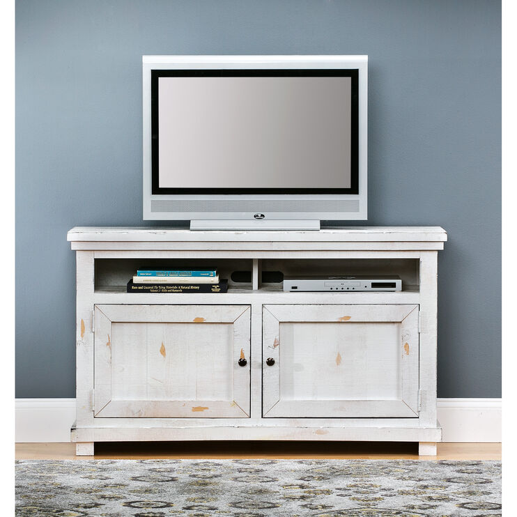Willow 54 Inch White Console