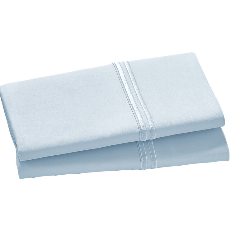 Elements Light Blue Queen Modal Pillowcase