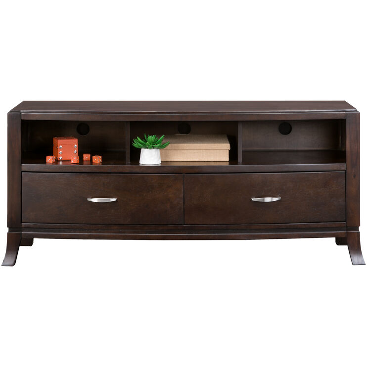 Downtown Merlot 60 Inch Console