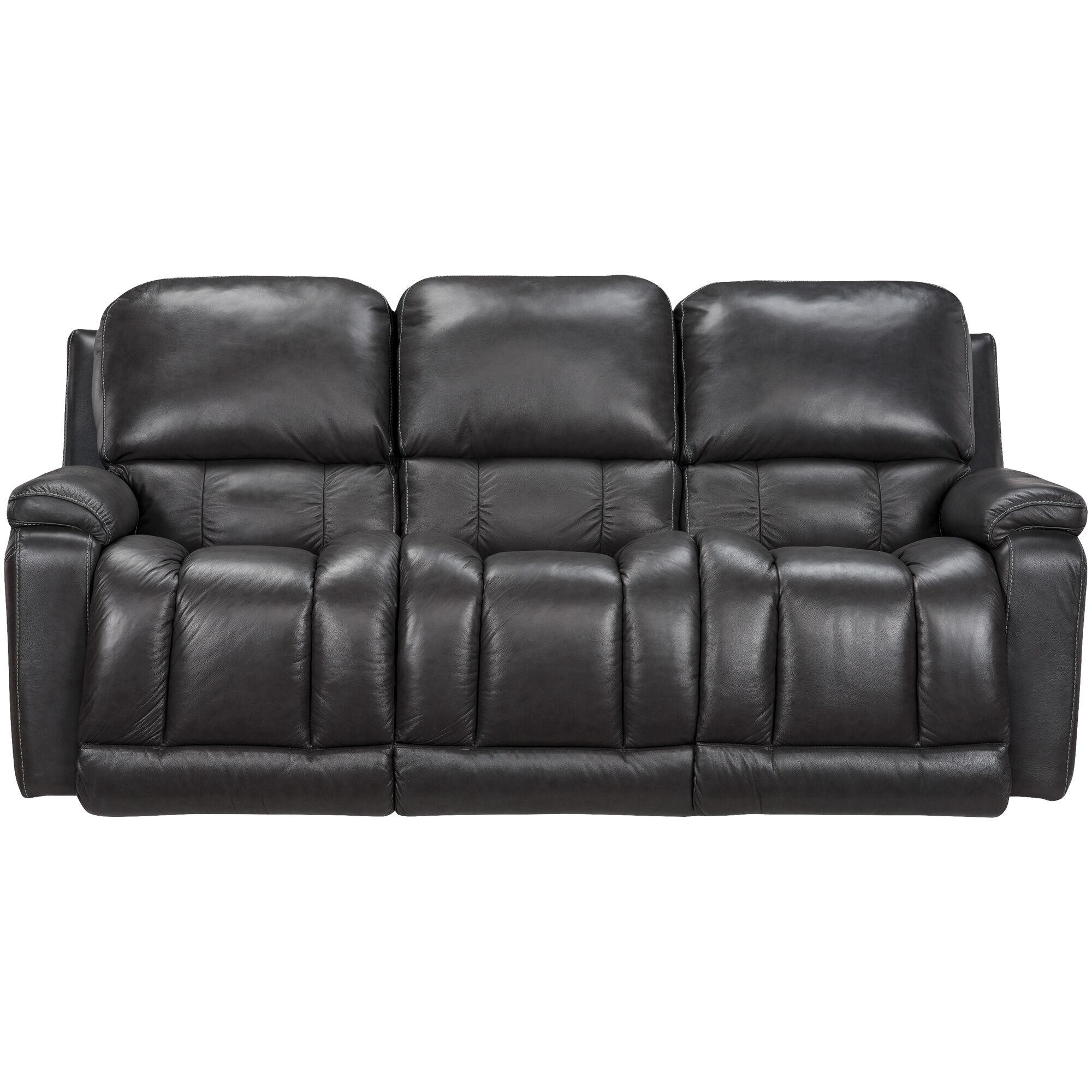 ... La Z Boy Greyson Charcoal Reclining Sofa ...