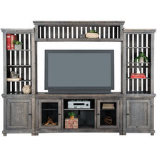 Willow 4Pc Gray Media Center