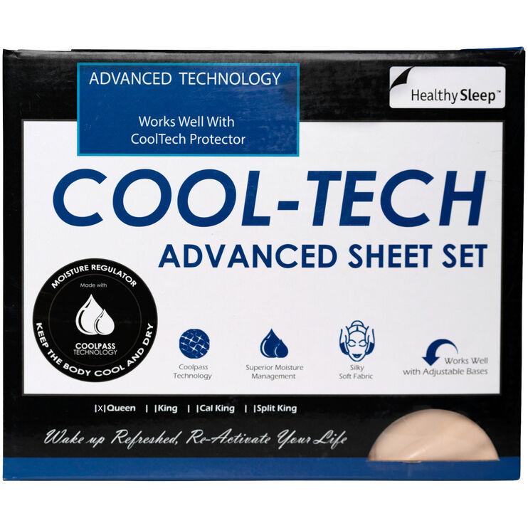 CoolTech Queen Cream Sheets
