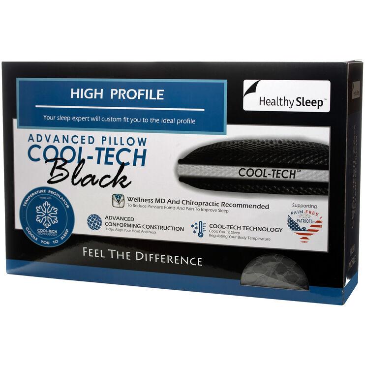 Healthy Sleep Queen Cool-Tech High Profile Pillow