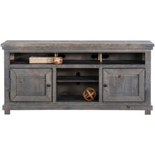 Willow Distressed Gray 64 Inch Console