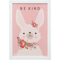 Kind Bunny Framed Art