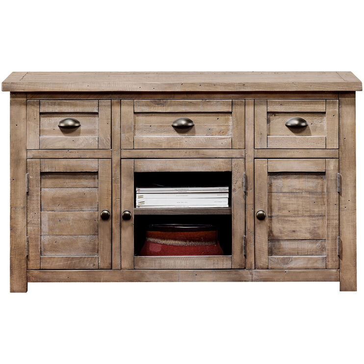 Images Previous Slater Mill Pine 50 Inch Console