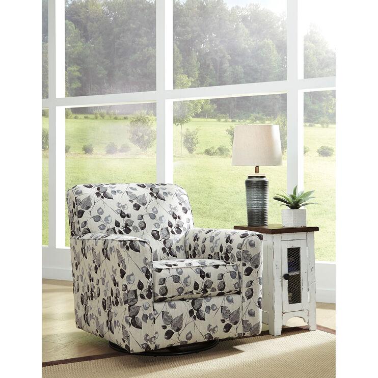 Cyprus Platinum Swivel Chair
