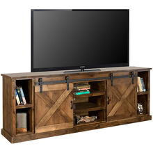 Farmhouse Aged Whiskey 85 Inch Console