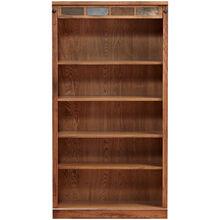 "Sante Fe Rustic Oak 60"" Bookcase"