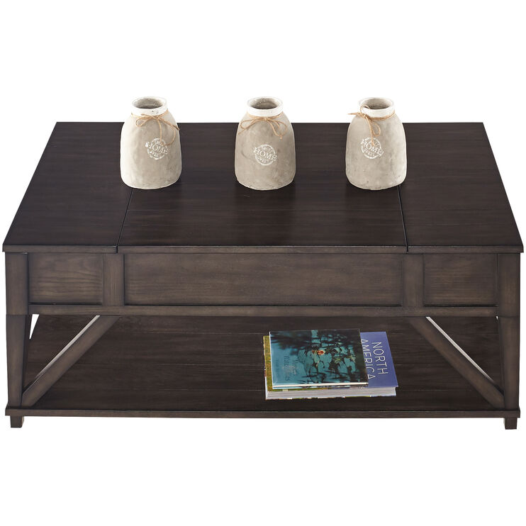 Consort Midnight Oak Coffee Table