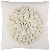 Sentiment 3D Flower Down Pillow