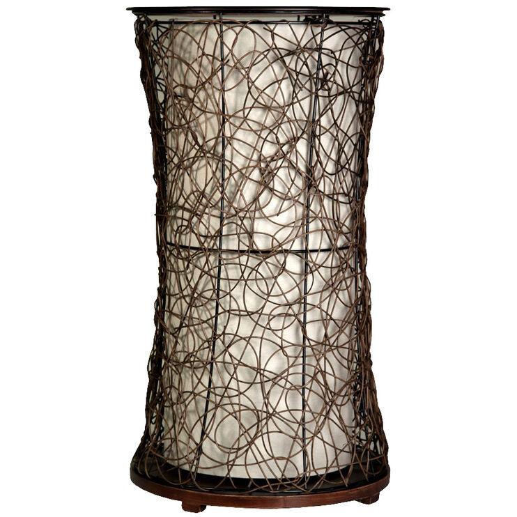 Tiffin Accent Table Floor Lamp