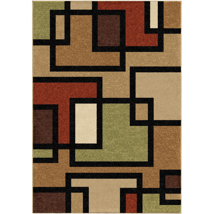Four Seasons Turner Multi 5 x 8 Rug