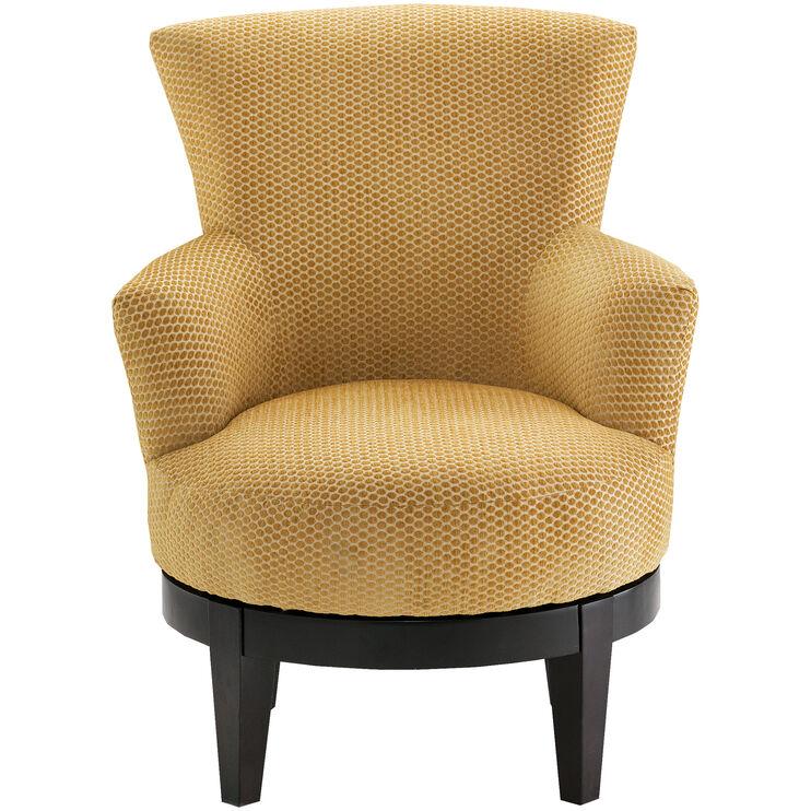 Justine Topaz Swivel Chair