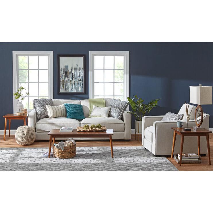 Slumberland furniture miles pearl sofa - Slumberland living room furniture ...