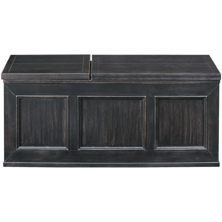 Gavelston Black Lift Top Coffee Table