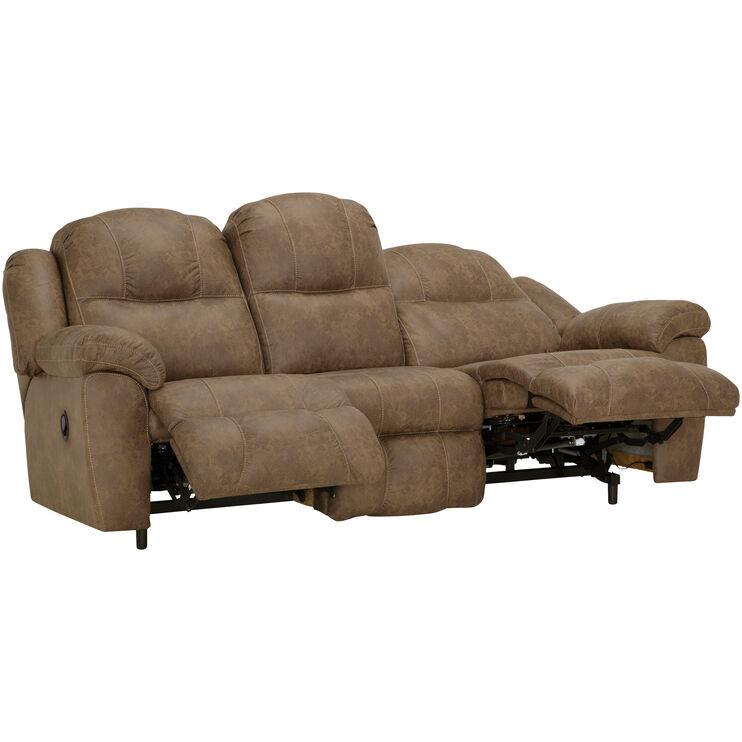 Rufford Tan Reclining Sofa
