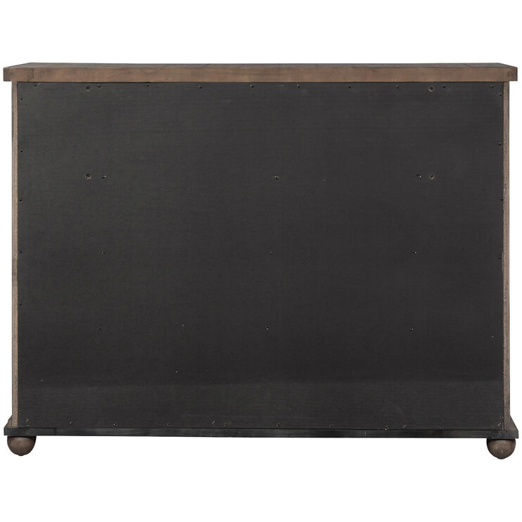 Harvest Home Brown 11 Drawer Dresser