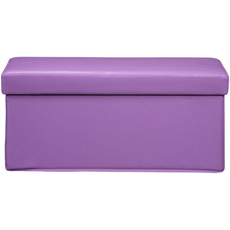 Gilbert Lavender Storage Bench