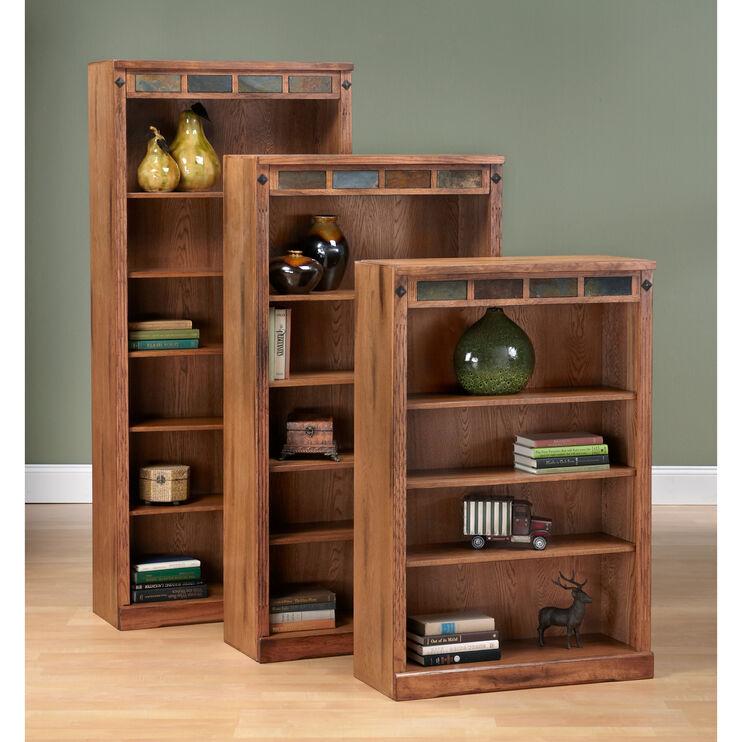 "Sante Fe Rustic Oak 48"" Bookcase"