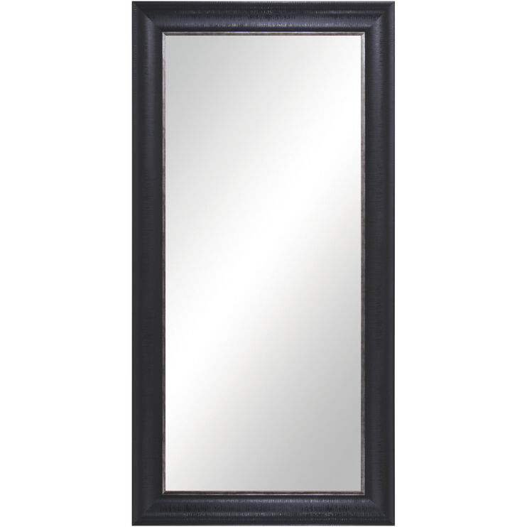 Leaner Black Floor Mirror