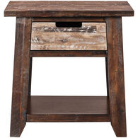 Painted Canyon Accent Table