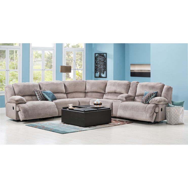 Winston 6 Pc Granite Sectional