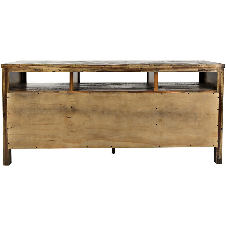 Artisans Craft Brown 70 Inch Console