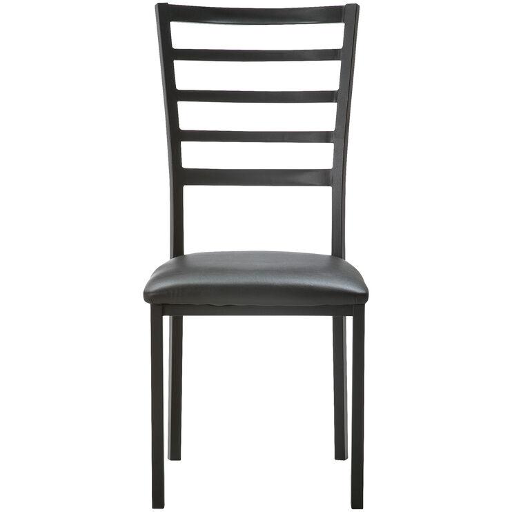 Ivory Coast Black Side Chair