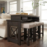 Heatherbrook Console Table And Stools