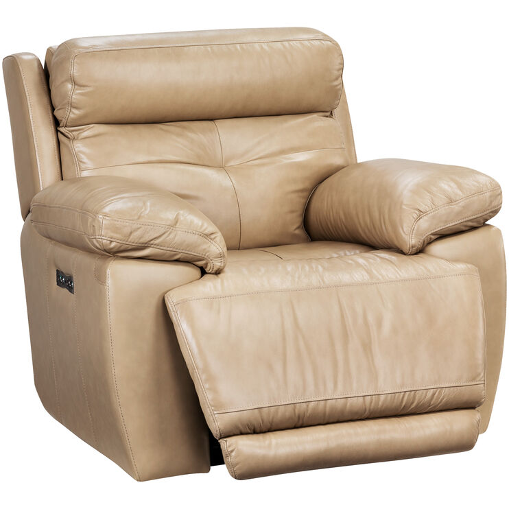 Rhodes Tan Power+ Recliner