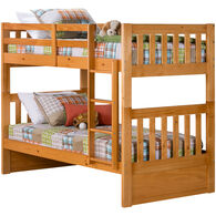 Knollwood Honey Twin/Twin Bunk Bed