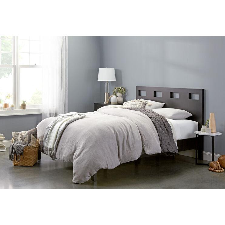 Riva Black Queen Bed