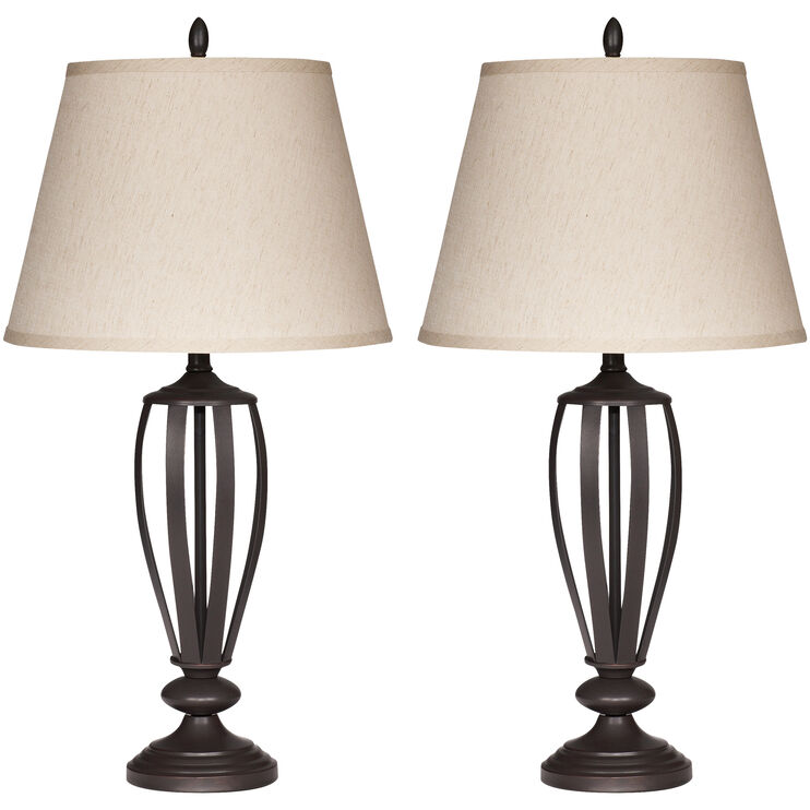 Ashland Bronze 2 Table Lamps