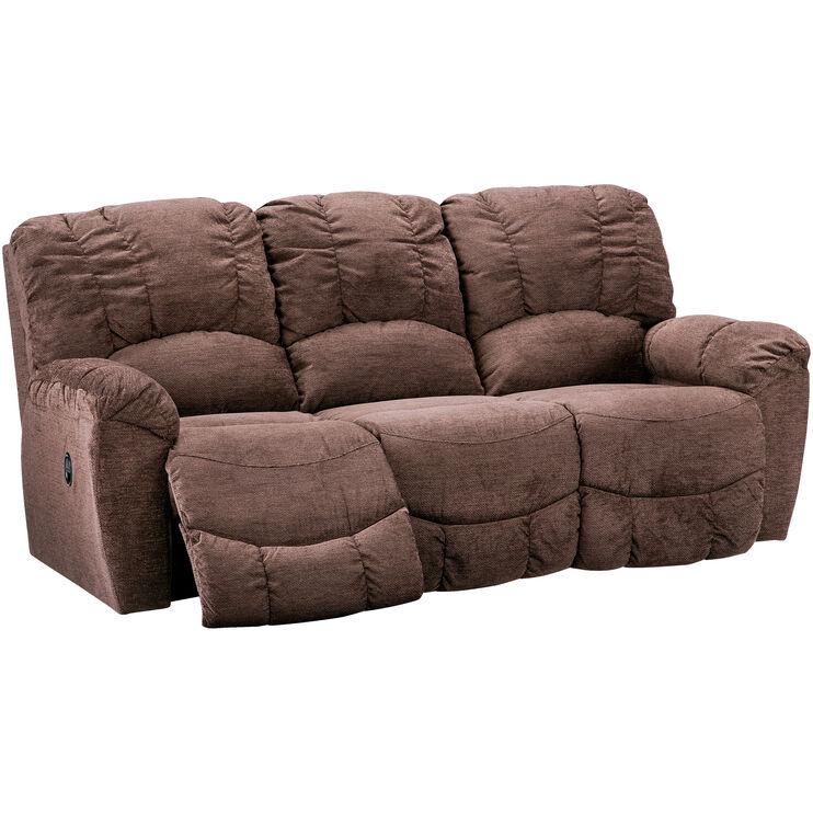 La-Z-Boy Hayes Chocolate Reclining Sofa