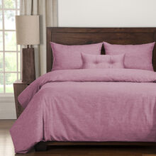 Pacific 5 Piece Raspberry Queen Duvet Set