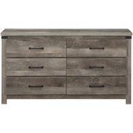 Gambrel Dresser