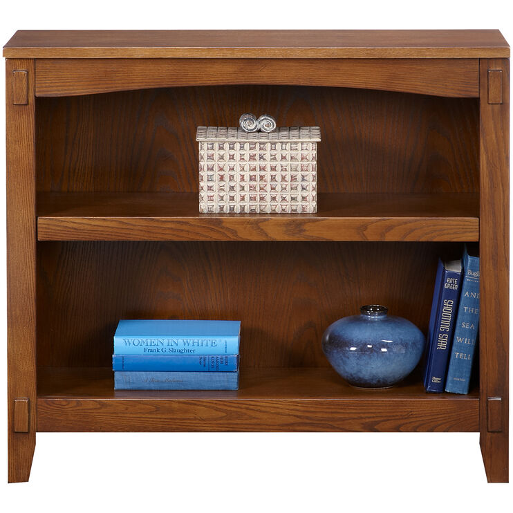 Cross Island Brown Small Bookcase