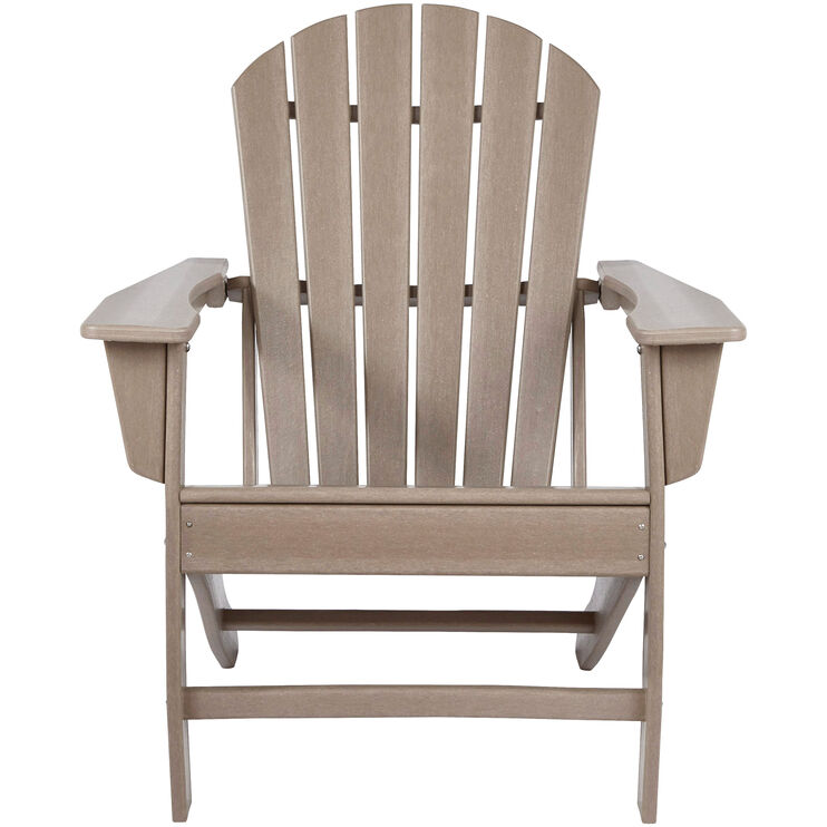 Sundown Driftwood Adirondack Chair