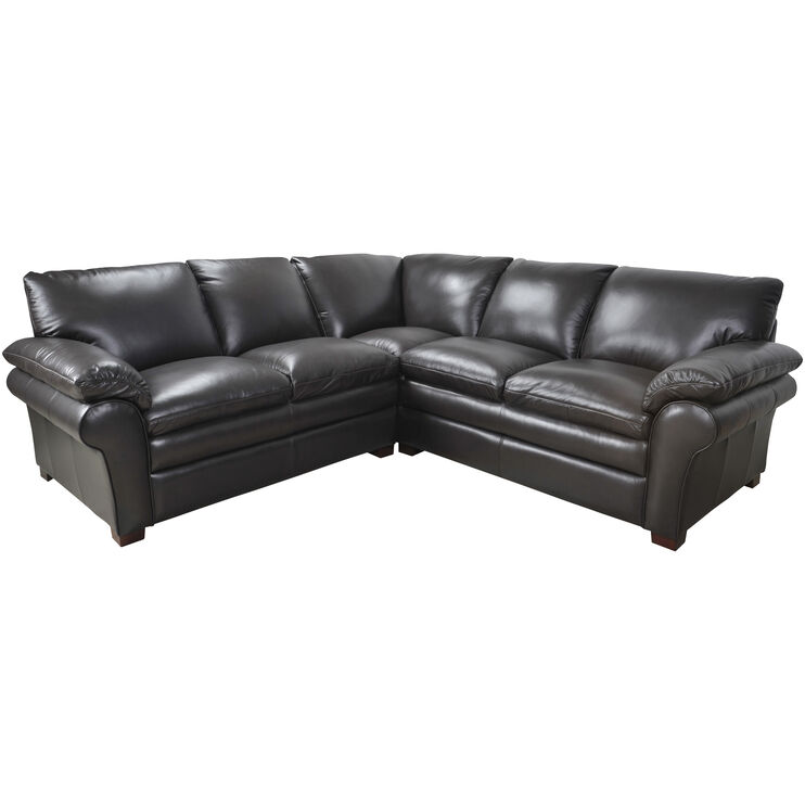 Moldova Brown Left Arm Loveseat Sectional