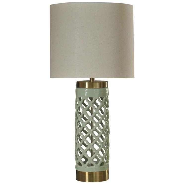 Korma Mint Green Table Lamp