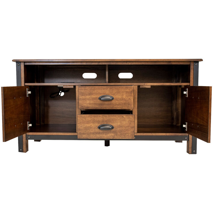 District Cool Copper 55 Inch Console