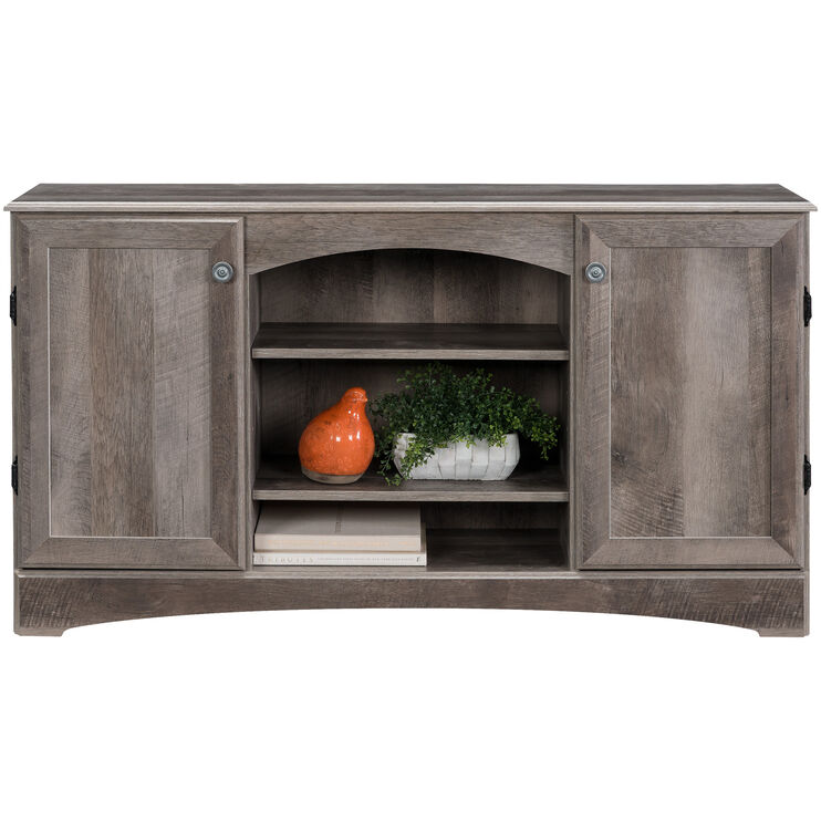 Hastings Gray Oak Console