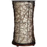 Tiffin Accent Table Floor Lamp