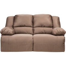 Crownley Mocha Reclining Loveseat