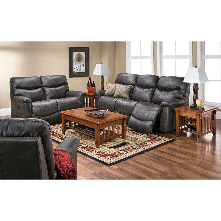 Slumberland Furniture La Z Boy James Steel Sofa